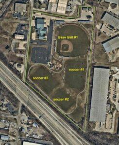 Aerial Schuler Park Fields