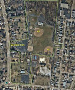 Aerial Bechtol Park Fields