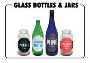 glass which may be recycled