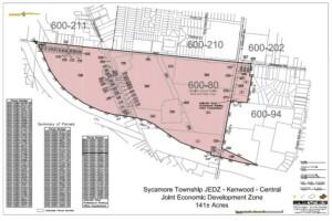 Central JEDZ District Map