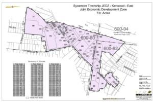 East JEDZ District Map
