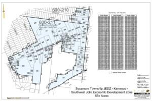 Southwest JEDZ District Map