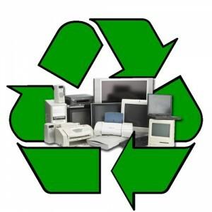 electronics recycling symbol