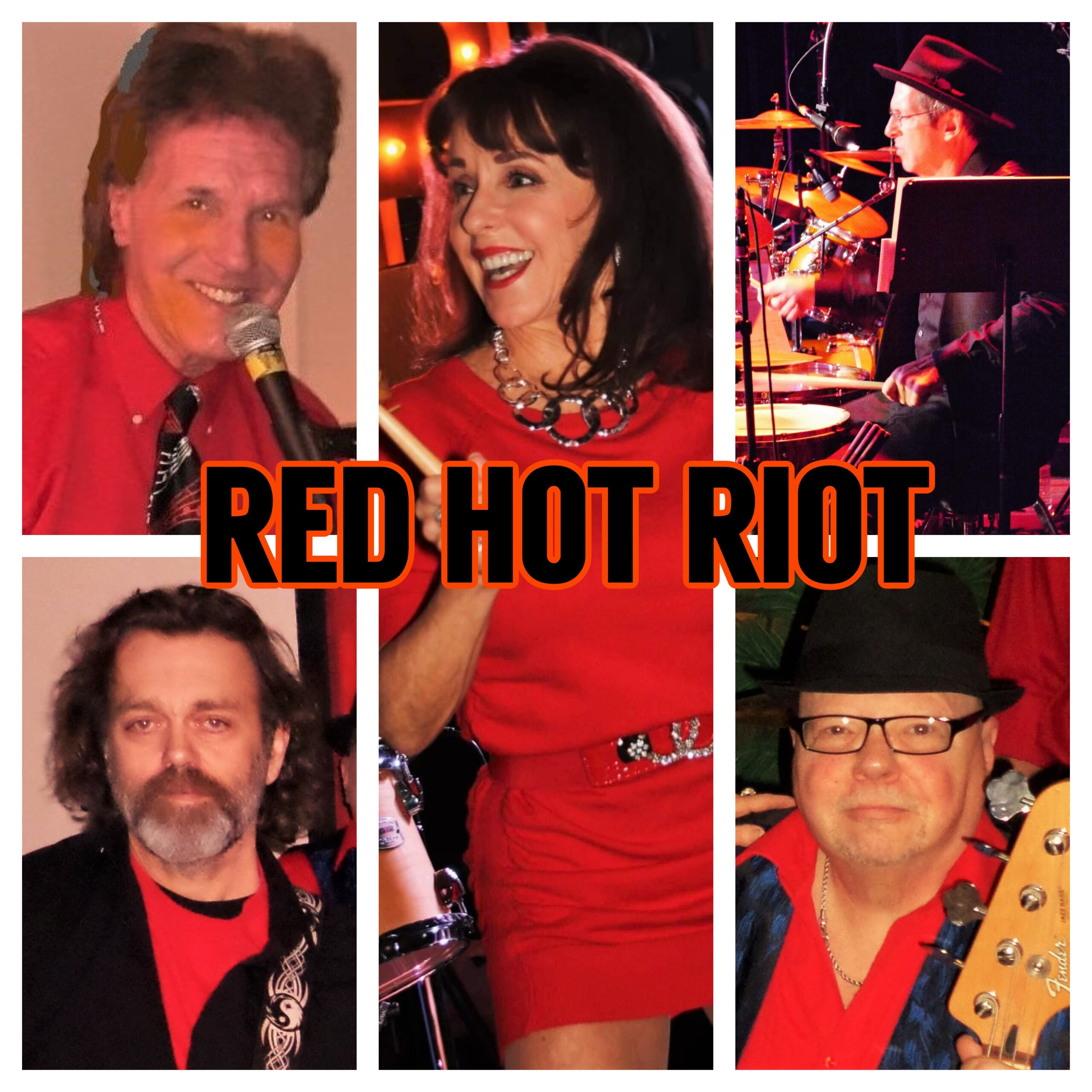 Red Hot Riot Band Members