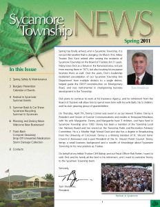 Icon of Spring Newsletter 2011