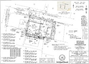 Icon of Site Plan Proposed Concrete Pad