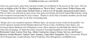 Icon of SUMMER BASH And CAR SHOW
