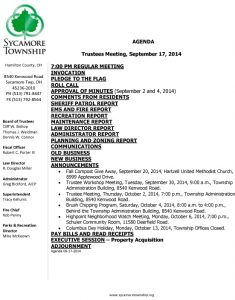 Icon of Trustee Agenda 09 17 2014