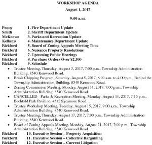 Icon of Workshop Agenda 08 01 2017