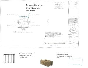 Icon of Site Plan And Wall Details