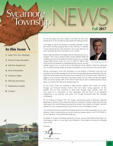 Icon of Fall 2017 Newsletter