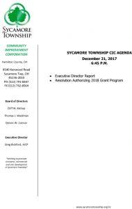 Icon of CIC Meeting Agenda 12-21-17