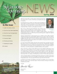 Icon of Spring 2018 Newsletter
