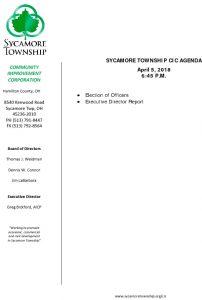 Icon of CIC Meeting Agenda 04-05-18