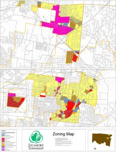 Icon of Sycamore Twp 2018 Zoning Map