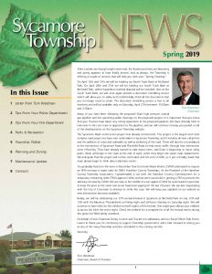 Icon of Spring 2019 Newsletter