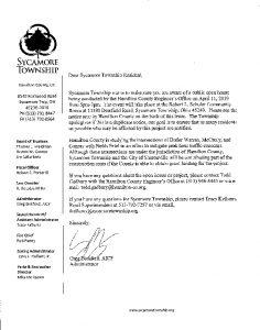 Icon of Fields Ertel Road Project Open House Notice