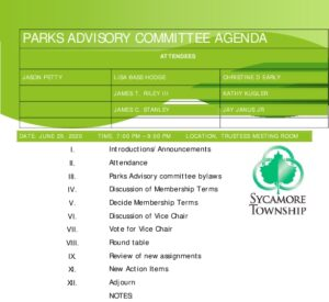 Icon of 06 29 2020 Parks Advisory Committee Agenda