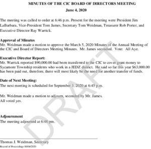 Icon of CIC Document 09 03 2020