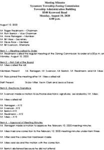 Icon of ZC 08-10-2020 Minutes