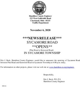 Icon of Sycamore Road Opening 11