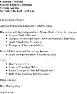 Icon of 11 24 2020 Finance Committee Agenda