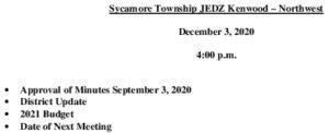 Icon of Agenda JEDZ Boards 12 03 2020