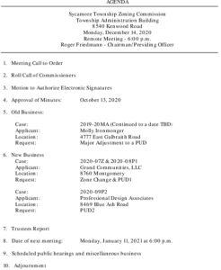 Icon of 12-14-2020 Zoning Commission Agenda