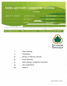 Icon of 03-22-2021 Parks Advisory Committee Agenda