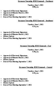 Icon of Agenda JEDZ Boards Meetings 06 01 2021