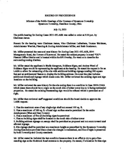 Icon of 07 13 2021 Zoning Public Hearings Minutes