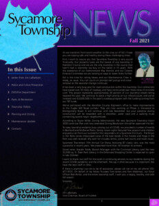 Icon of Fall 2021 Newsletter