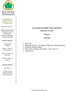 Icon of CIC Meeting Agenda 09 21 2021