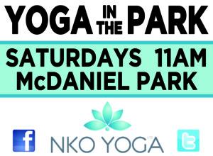 Yoga in the Park @ Clete McDaniel Park | Cincinnati | Ohio | United States