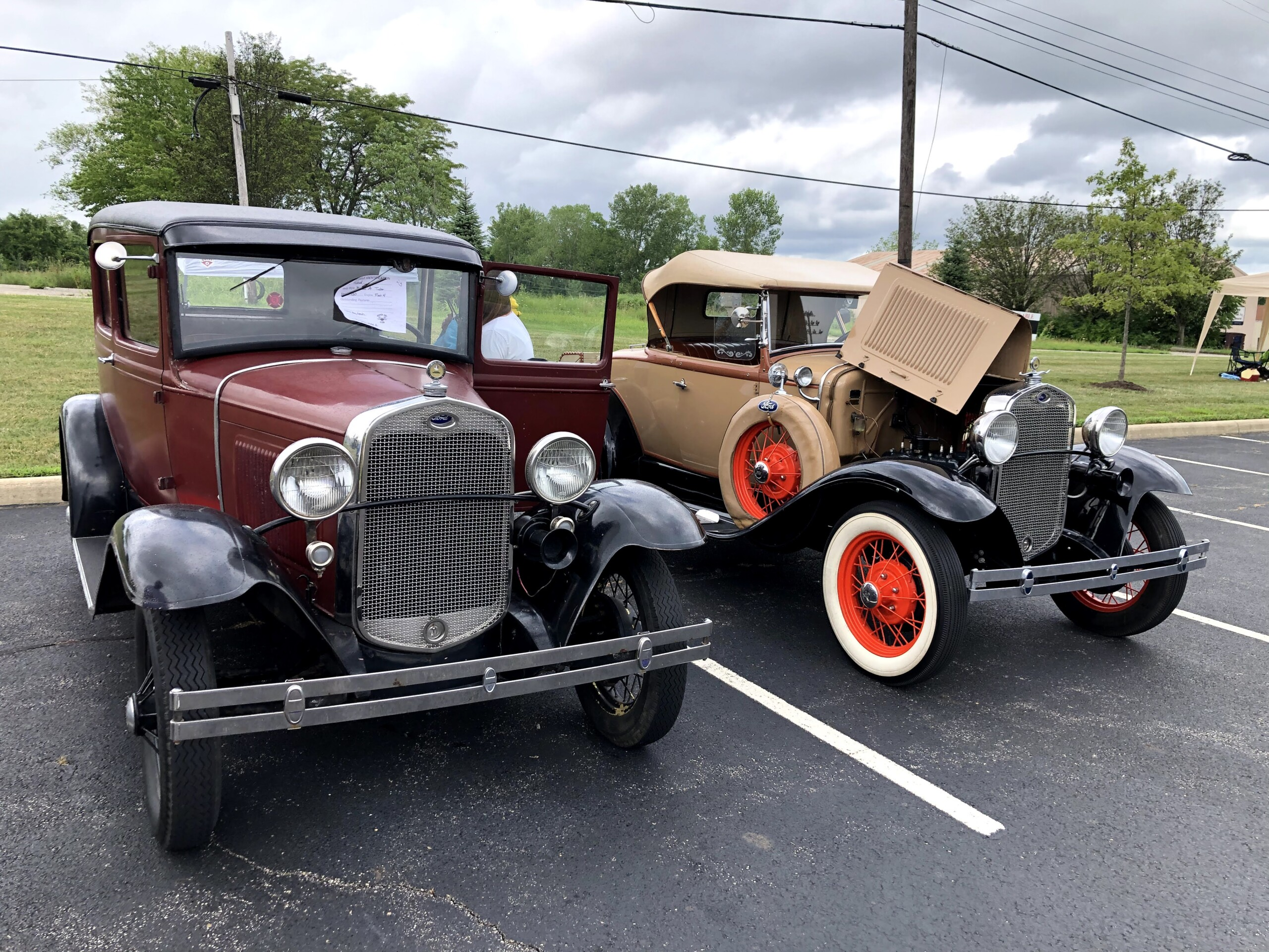 Old Fashioned cars